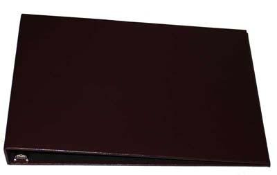 Burgundy Business 7 Ring Check Binder