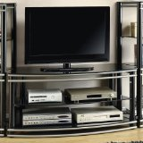 Coaster Home Furnishings 700722 Contemporary TV Console, Black