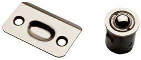 ZeniN Fasteners & Hardware Satin Nickel Steel Drive-in Ball Catch