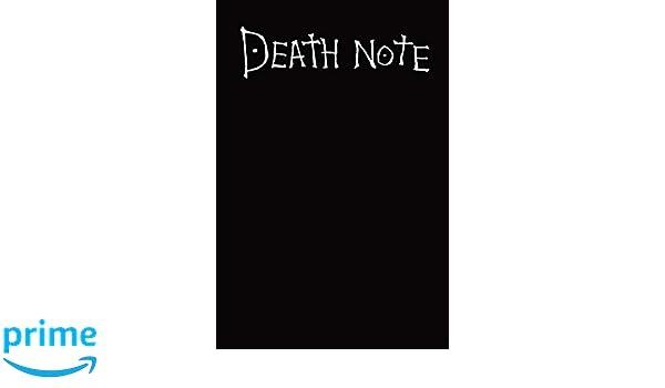 Amazon.com: Deathnote: Cahier Death note, Agenda 2019, Theme ...