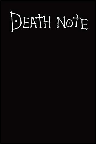 Deathnote: Cahier Death note, Agenda 2019, Theme Death note ...