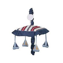 Sweet Jojo Designs Nautical Nights Sailboat Musical Baby Crib Mobile by Sweet Jojo Designs