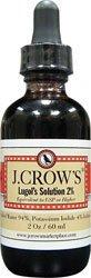 J.CROW 'S ® Lugol solution d'iode à 2%