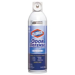CLOROX SALES CO. Commercial Solutions Odor Defense, Clean Air, 14oz Aerosol, 12/carton by Clorox