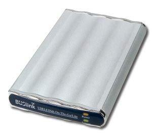 BUSlink 250GB USB 2.0 HI-Speed Disk-On-The-Go Lite SSD External Slim Drive