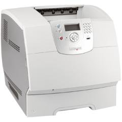 20G2016 - Lexmark T644N Laser Printer - Monochrome Laser - 50 ppm Mono - 2400 dpi - USB - Fast Ethernet - Mac, PC, ()