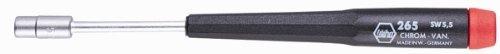 (Wiha 26547 Precision Nut Driver, Inch, 3/16 x 60mm)