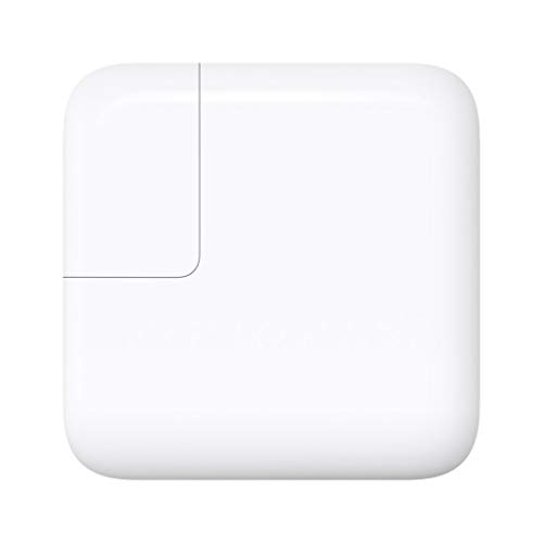 Apple 29W USB-C Power Adapter (MJ262LL/A) (Cable Not Included) (Renewed)