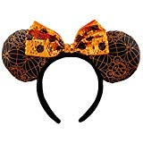 Disney Parks Minnie Sequined Ear Headband Halloween One Size New with Tags