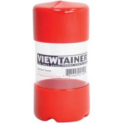 6-Pack Storage Container 2in Bulk Buy: Viewtainer x 4in Red CC24-1