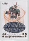 Sinorice Moss #56/150 (Football Card) 2006 SAGE Hit - Design for Success - Autographs [Autographed] #D-38