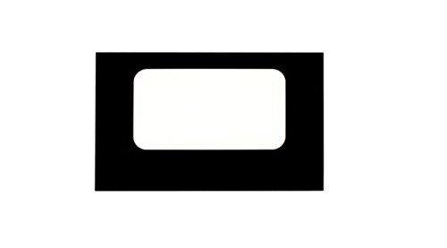 ge oven glass door - 5
