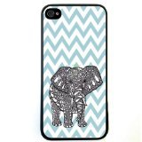 UPC 669489274793 - Generic Chevron Wave Print Elephant Hard Case Back Cover Case for Apple iPhone 5c - Non-Retail Packaging - Multi