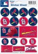 St Louis Cardinals Stickers - 1
