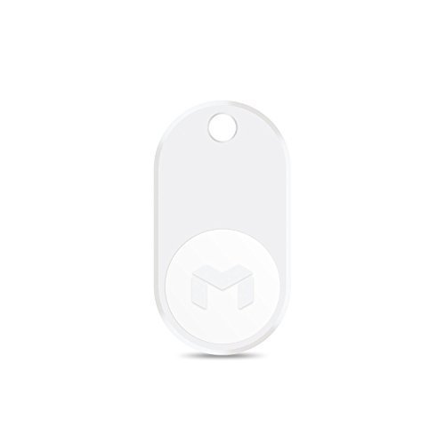 MYNT ES - A Compass for Finding Important Things. Phone locator, Key Finder and Wallet Tracker. Find Your Items in Seconds. (1-PACK, 1-WHITE) by MYNT