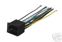 219EYXFS0QL amazon com stereo wire harness vw eurovan 02 03 2002 2003 (car Wiring Harness Diagram at fashall.co