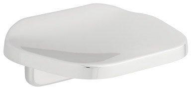 Bath Unlimited D2406PC Polished Chrome Futura Soap Dish