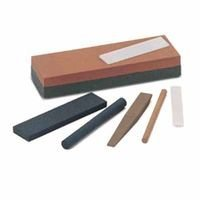 Norton Bench Stone - Ib64 4X1 Round India Comb Bench Stone, Sold As 1 Each
