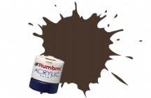 Humbrol Acrylic Paint, Pullman Umber Brown