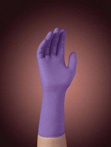 Purple Nitrile-Xtra Powder-Free Disposable Gloves - Size L,