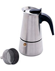 Stainless 4 Cup Stovetop Espresso Maker Coffee Pot Percolator Brewer Latte Mocha