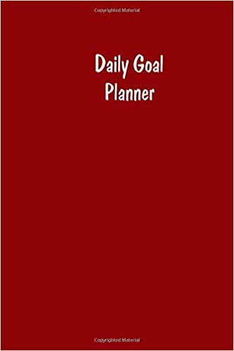 amazon com daily goal planner increase your productivity and reach