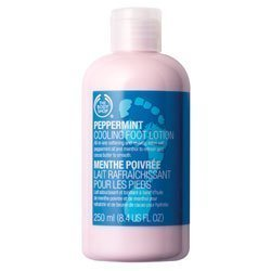 Body Shop Peppermint Foot Lotion - 4
