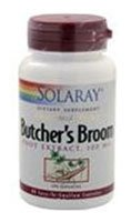 (Solaray Butcher's Broom Root Extract -- 100 mg - 60 Capsules - 2pc)