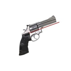 Rubber Crimson Trace (Crimson Trace Red Lasergrips for Smith & Wesson N-Frame, Round Butt - LG-314)