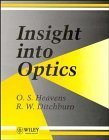 img - for Insight Into Optics by O. S. Heavens (1992-09-22) book / textbook / text book