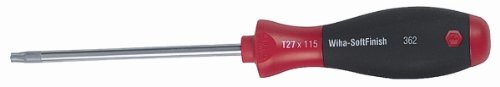 Wiha 36272 Torx Screwdriver with SoftFinish Handle T9 x 60mm
