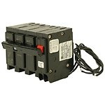 Cutler Hammer br320st Circuit Breaker, 3-Pole 20-Amp with shunt trip