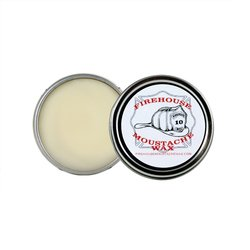 Firehouse Moustache Wax – Light Wax, 1 Ounce