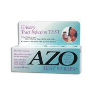 Bandelettes de test pour azoïques Infection des voies urinaires - 3 Bandelettes de test