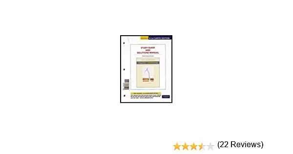 Amazon organic chemistry study guide and solutions manual amazon organic chemistry study guide and solutions manual books a la carte edition 6th edition 9780321774378 paula yurkanis bruice books fandeluxe Images