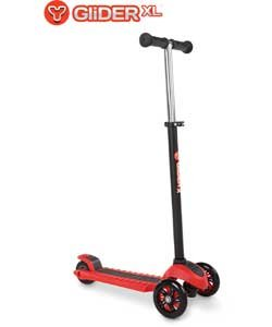 Amazon.com: yvolution y planeador XL – Patinete, color rojo ...