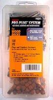 - PRO-PLUG SYSTEM Plug and Fasteners - 100 pc Kit Red Balau- plugs 5/16