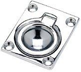 FLUSH RING PULL 1-7/8 x 2-1/2 by SEACHOICE - Seachoice Flush Ring Pull