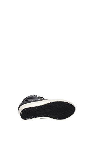PFHDML45 Philippe Model Sneakers Mujer Charol Negro Negro