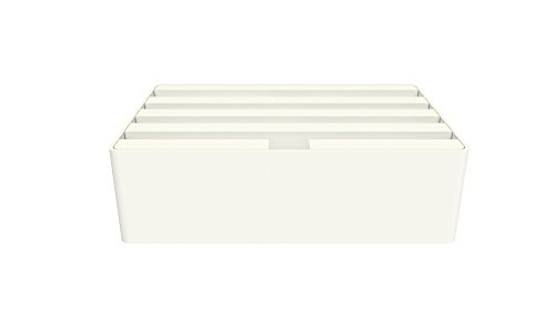 Medium White Base with White Top (White / White) by ALLDOCK (Image #1)