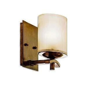 (Kalco 2991-TN Stapleford - One Light Bath Vanity, Tuscan Sun Finish with Opal Glass)
