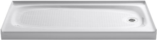 KOHLER 9054-0 Salient Shower Receptor, White