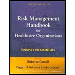 Risk Management Handbook - Volume 1, 2, & 3 (6th, 10) by (ASHRM), American Society for Healthcare Risk Management [Hardcover (2010)]