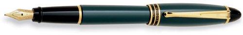 Aurora Ipsilon Resin Green Extra Fine Point Fountain Pen - AU-B11V-EF