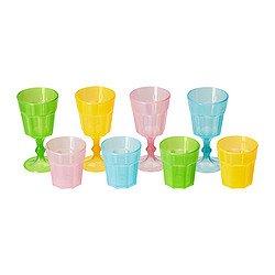 Ikea Duktig Glass, Multicolor