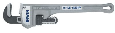 IRWIN VISE-GRIP Tools Cast Aluminum Pipe Wrench, 3-Inch Jaw Capacity, 24-Inch (2074124) by IRWIN