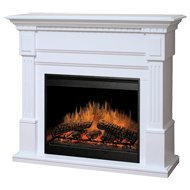 Dimplex Essex Electric Fireplace in White (Dimplex Fireplace Remote Control compare prices)