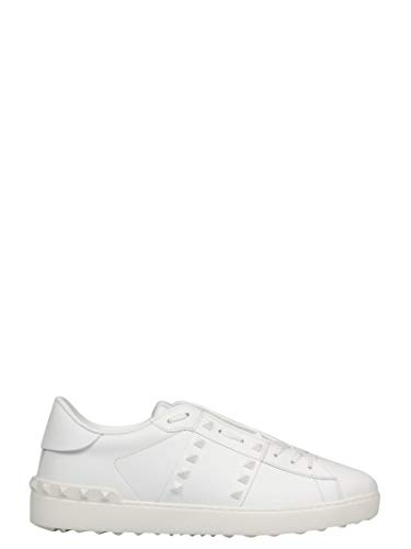 Valentino Garavani Men's Ry2s0931yek0bo White Leather, used for sale  Delivered anywhere in USA