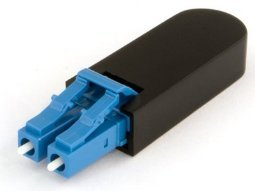 LC Fiber Optic Singlemode 9/125 Loopback Adapter