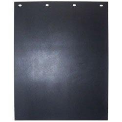 24 X 36 Eco-Flex Rubber Mudflap Black-2Pack